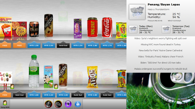 Smart Vending Sales UI