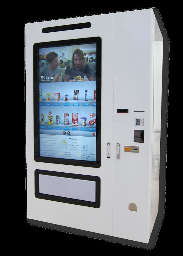 Silkron Smart Vending Machine Design Reference