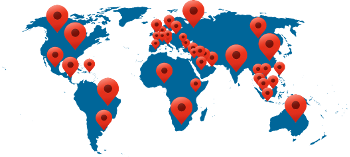 Customer base reached 40 countries with install base rapidly growing around the world