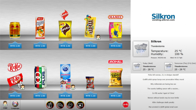Silkron - Smart Vending & Automated Retail Platform: Enabling Smart